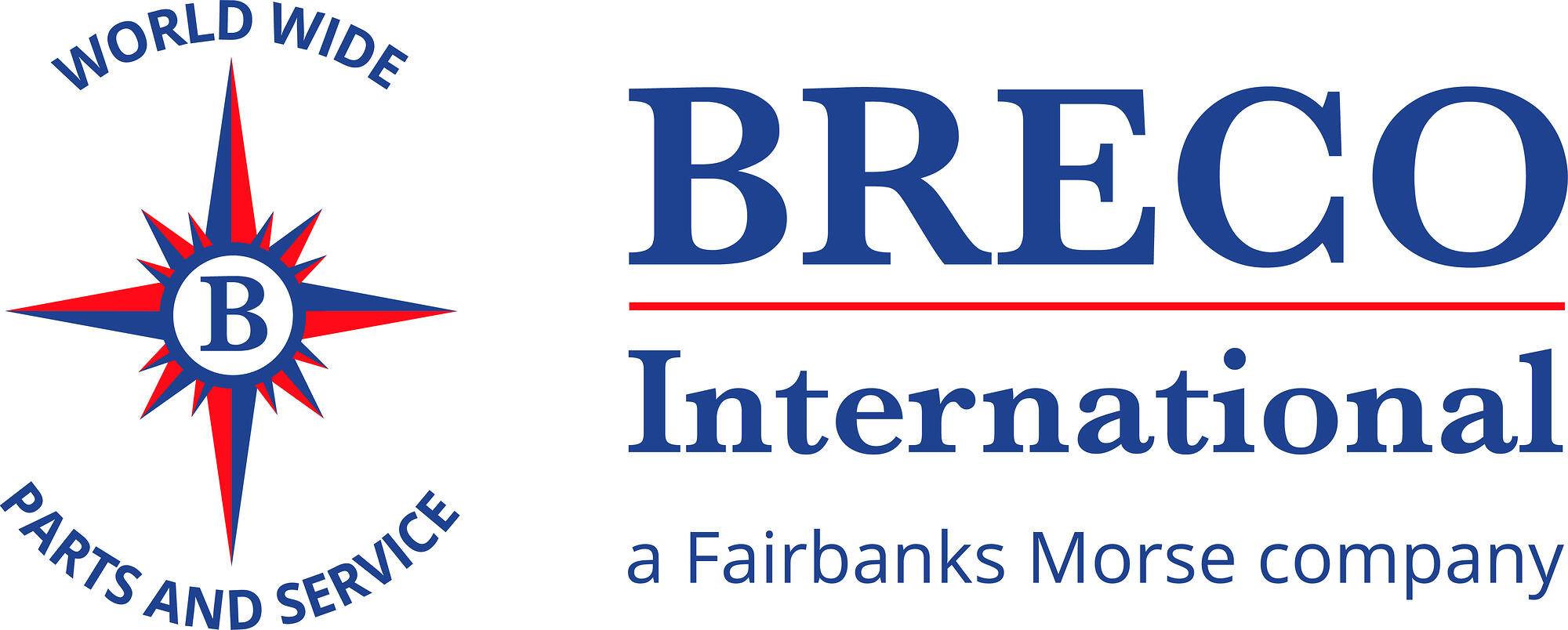 Breco International Worldwide Parts and Service Logo